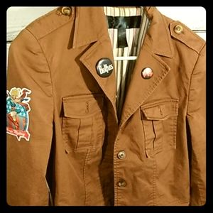 Apostrophe tan jacket with add ons